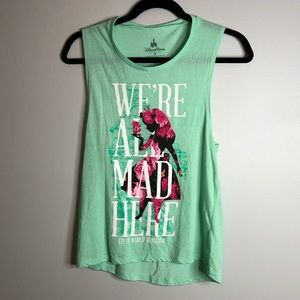 """""""We're All Mad Here"""" Alice Tank"""